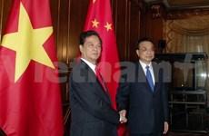 Premier vietnamita se reúne con sus homólogos japonés y chino