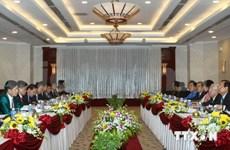 Refuerzan cooperación integral Ciudad Ho Chi Minh-Vientiane