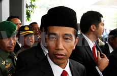 Presidente indonesio visita Filipinas