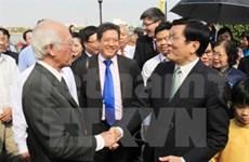 Presidente vietnamita felicita a Viet Kieu en ocasión del Tet