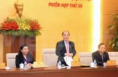 Comité Permanente parlamentario discute proyecto de ley de referéndum
