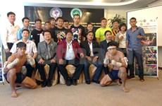 Atletas vietnamitas competirán en mundial de artes marciales