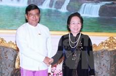Vietnam y Myanmar comprometidos a vigorizar nexos bilaterales