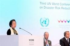 Urge Vietnam cooperación internacional en reducción de desastres