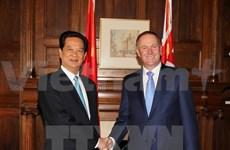Vietnam y Nueva Zelanda propician trasiego mercantil