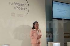 Mujer vietnamita honrada con título de L´Oreal-UNESCO