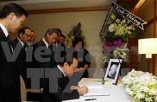 Vietnam rinde homenaje a Lee Kuan Yew