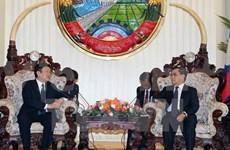 Vietnam y Laos vigorizan vínculos multifacéticos