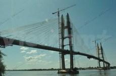 Inaugurado primer puente atirantado de Cambodia