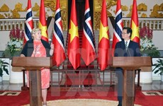 Emiten Vietnam y Noruega comunicado conjunto