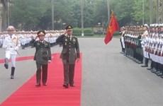 Visita Vietnam comandante supremo tailandés
