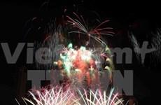 Australia triunfa en competencia pirotécnica en Da Nang