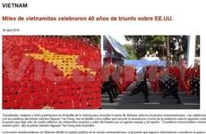 Prensa argentina publica noticias sobre Vietnam