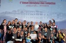 Coro indonesio triunfa en concurso en Vietnam