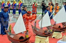 Rinden homenaje a marineros mártires de Hoang Sa