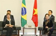 Vietnam y Brasil aspiran a fomentar asociación integral