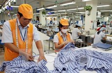 En alza exportación de productos textiles vietnamitas