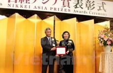 Directora de Vinamilk gana Premio Nikkei de Asia