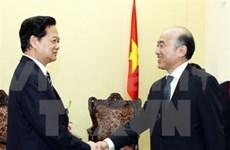 Premier vietnamita recibe a dirigente de IMF