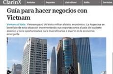 Prensa argentina destaca oportunidad de comercio e inversión en Vietnam