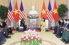 Vicepresidenta de Vietnam recibe a su homóloga estadounidense