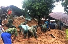 Reportan grave avalancha en provincia centrovietnamita de Quang Tri