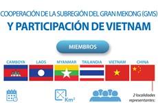 Participación de Vietnam en cooperación de la Subregión del Gran Mekong