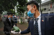 Embajada de Kuwait apoya a cultivadores vietnamitas de sandías ante impactos del COVID-19