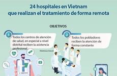 Vietnam registra 24 hospitales que realizan el tratamiento de forma remota