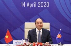 [Foto] Cumbre especial de la ASEAN sobre COVID-19