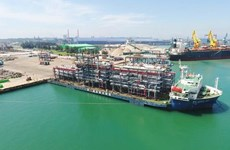 Exporta empresa vietnamita módulos gigantes a Emiratos Árabes Unidos