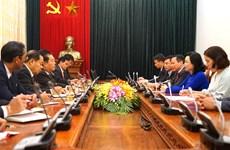 Robustecen relaciones Hanoi- Vientiane