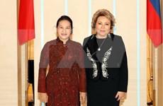 Debaten medidas para fortalecer los lazos parlamentarios entre Vietnam y Rusia