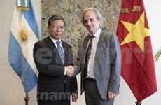 Delegación partidista de Vietnam realiza visita de trabajo a Uruguay y Argentina