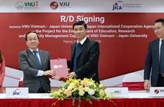 JICA ofrece asistencia para mejorar enseñanza e investigación de Universidad Vietnam-Japón