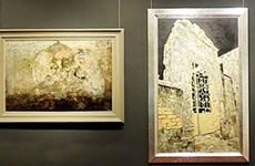 Deleita exposición de pinturas de laca al público de Hanoi