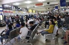 Limitan transporte de pasajeros desde y hacia Hanoi y Ciudad Ho Chi Minh