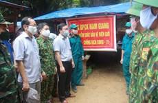 Fortalecen control de COVID-19 en zonas fronterizas entre Vietnam y Laos