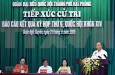 Primer ministro vietnamita sostiene contactos con votantes