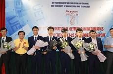 Gana Vietnam medalla de oro en Olimpiada Internacional de Informática 2020