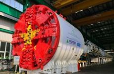 Completarán tuneladora de tramo subterráneo del metro Hanoi