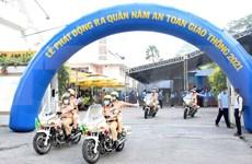 Ciudad Ho Chi Minh se esfuerza por reducir accidentes de tráfico para 2021