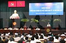 Empeña Ciudad Ho Chi Minh en mantener crecimiento económico y mejorar administración urbana