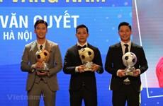 Nguyen Van Quyet conquista Balón de Oro de Vietnam en 2020