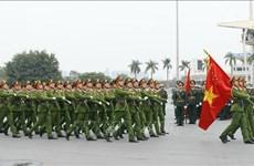 Policía dispuesta a proteger la seguridad del XIII Congreso Nacional del Partido Comunista de Vietnam