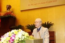 Máximo dirigente de Vietnam pide concentrar esfuerzos para garantizar éxito de elecciones generales