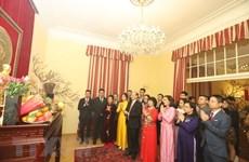 Vietnamitas en todo el mundo saludan el Año Nuevo Lunar 2021