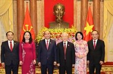 Efectúan ceremonia de traspaso de funciones del Presidente de Vietnam