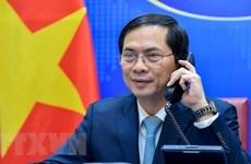 Canciller de Vietnam sostiene conversaciones con su homólogo surcoreano sobre relaciones bilaterales