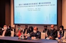 ASEAN y China debaten temas sobre el Mar del Este